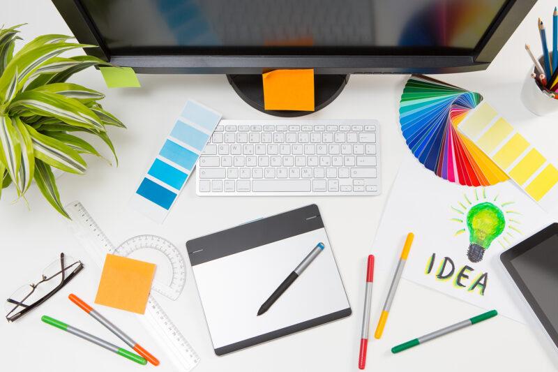 Разработка дизайн-макета полиграфии