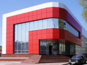 фасады из композитных панелей